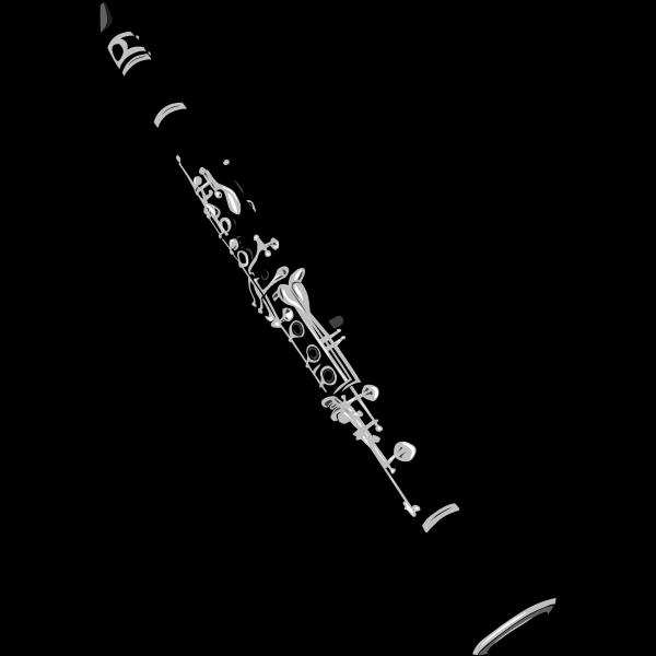 Clarinet vector graphics