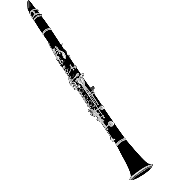 Clarinet vector graphics