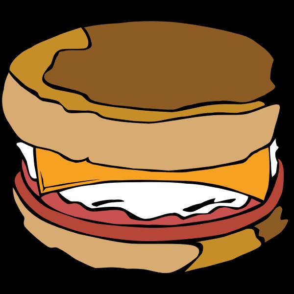 McMuffin vector illustration