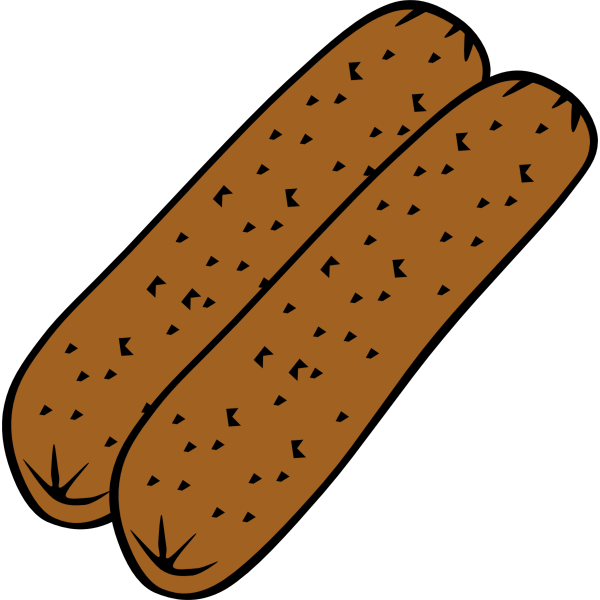 Sausage vector graphics