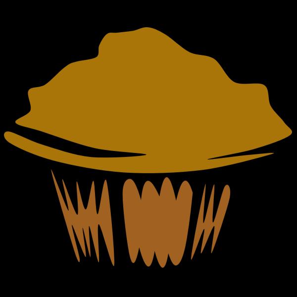 Vector illustration of muffin