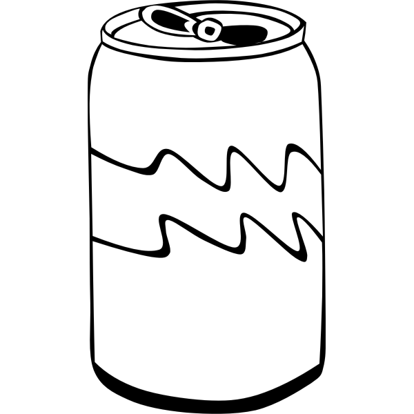 Fast Food Soda Can Vector