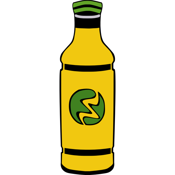 Bottle vector graphics