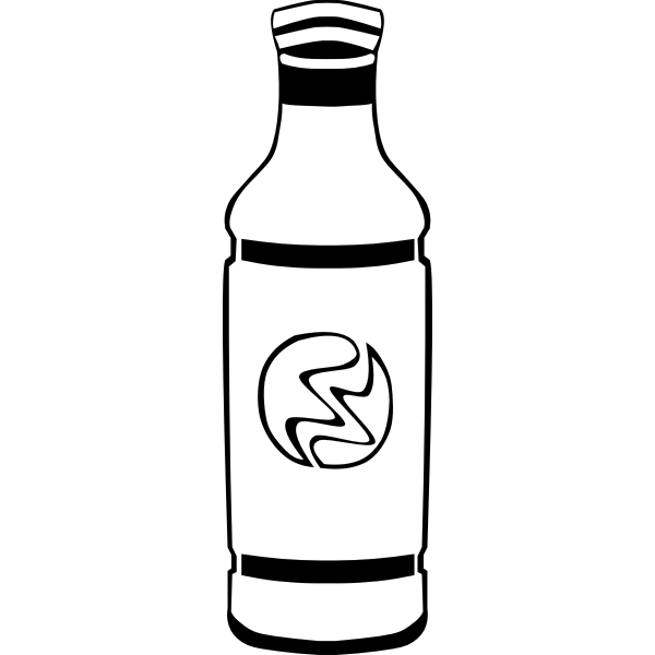 Bottle vector clip art