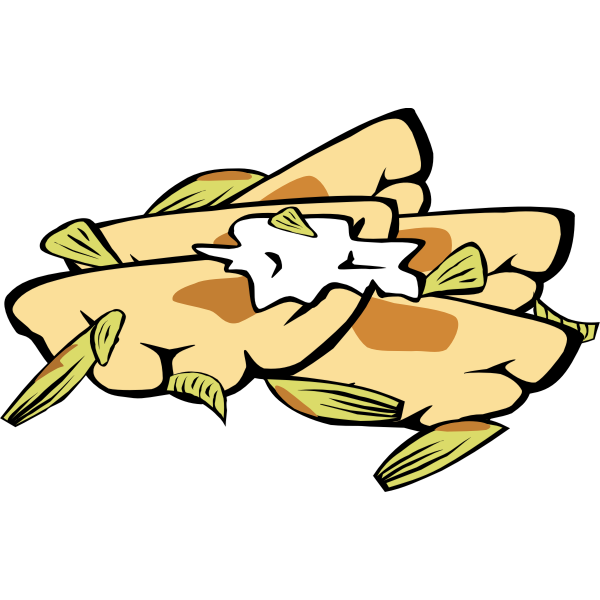 Pierogis vector illustration