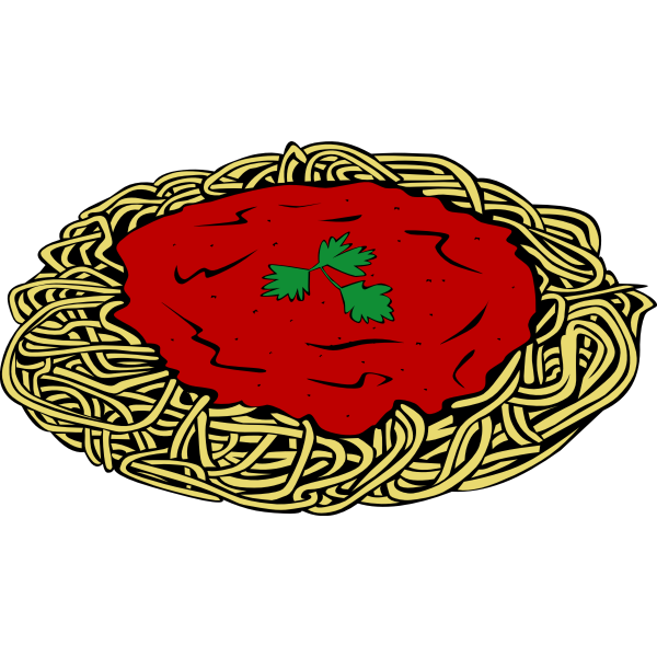 Spaghetti vector graphics