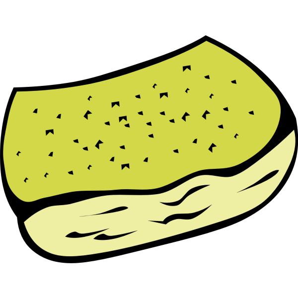 Garlic bread vector clip art