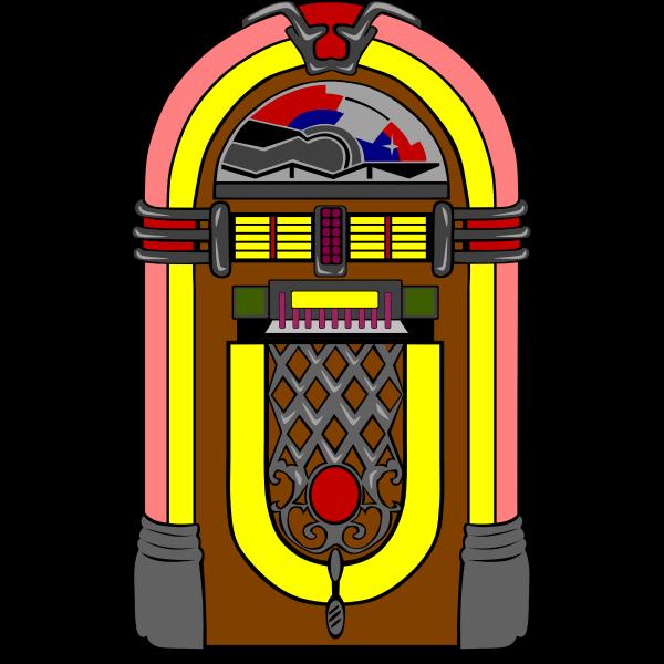 Vector jukebox image