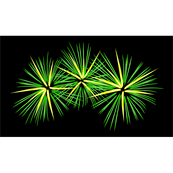 Fireworks vector clip art