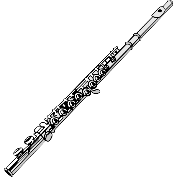Flute vector graphics