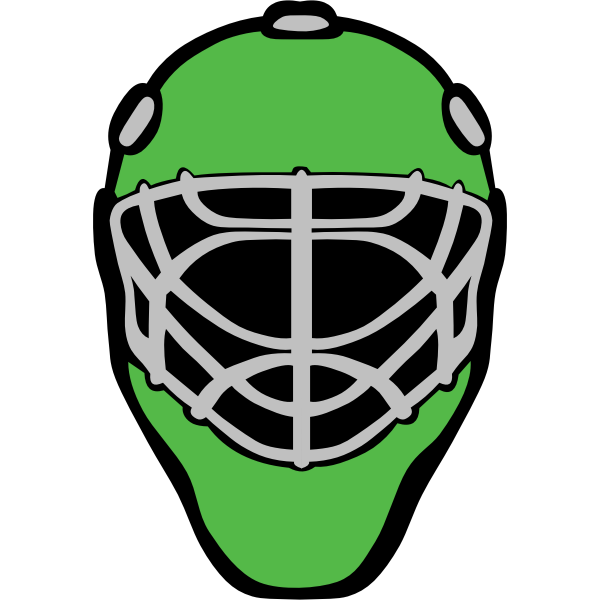 Hockey vector mask