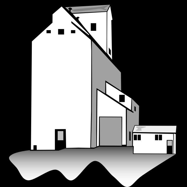 Grain Elevator Vector