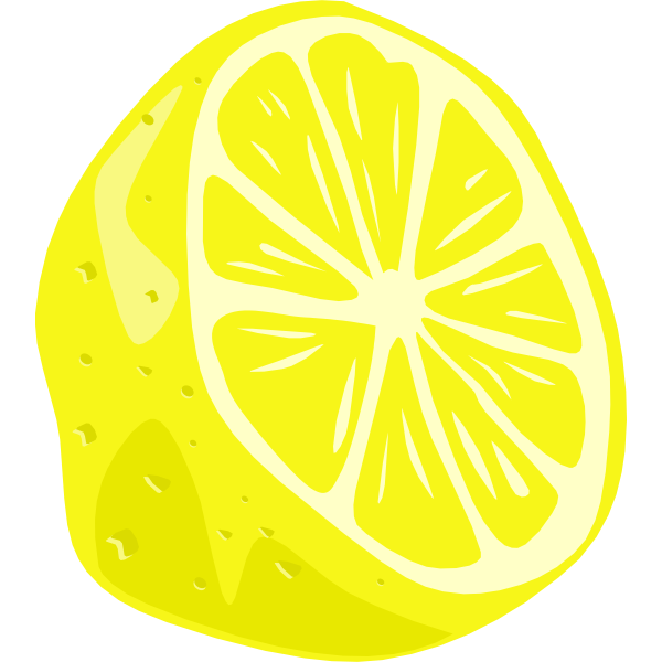 Vector image of lemon