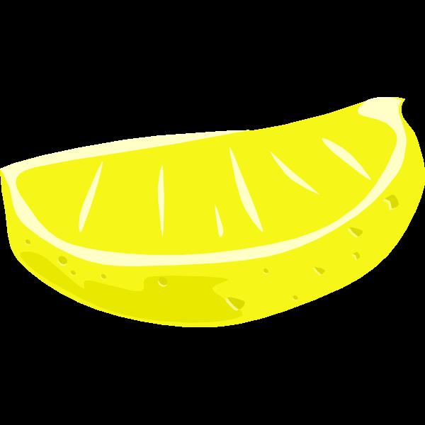 Sliced lime vector clip art