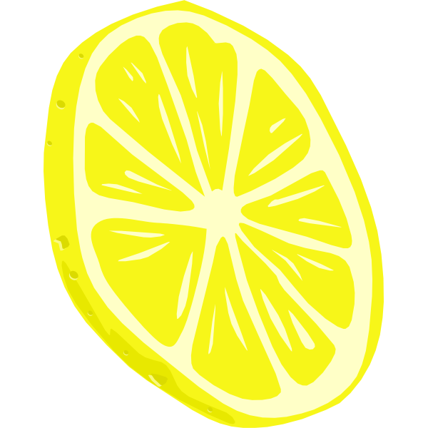 Lemon vector drawing