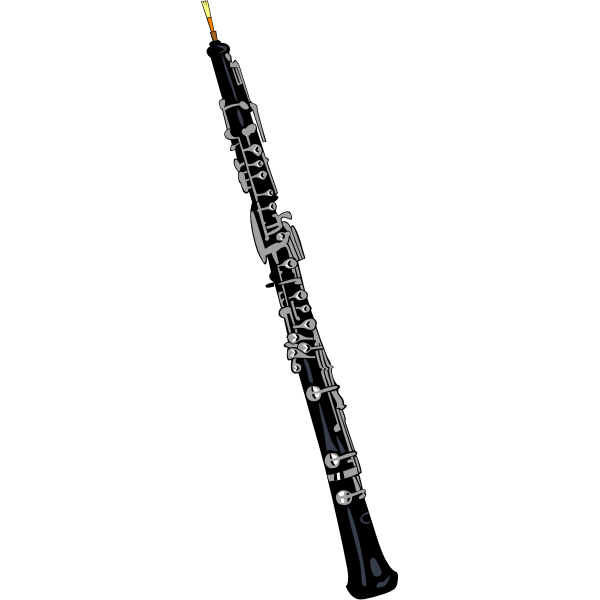 Vector graphics of oboe