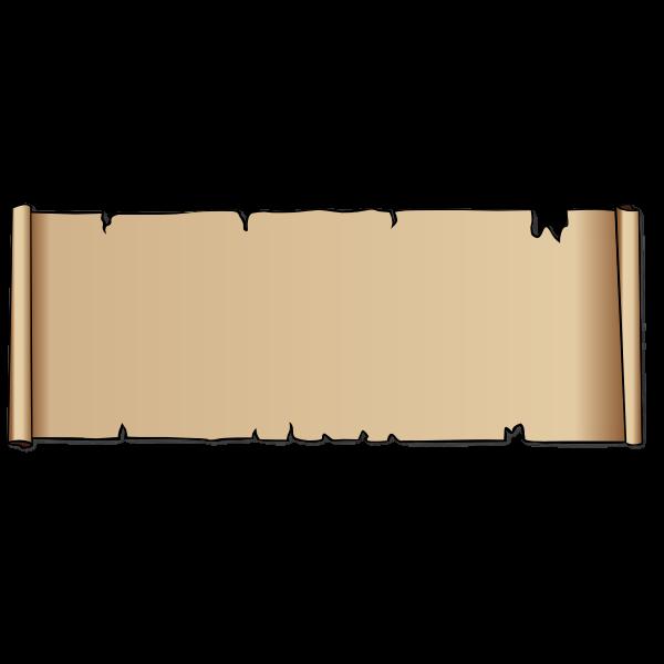 Vector scroll