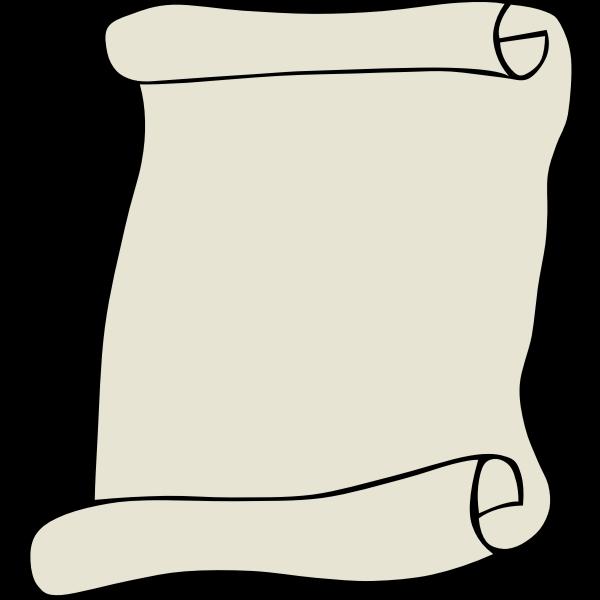 Parchment Vector Clip Art