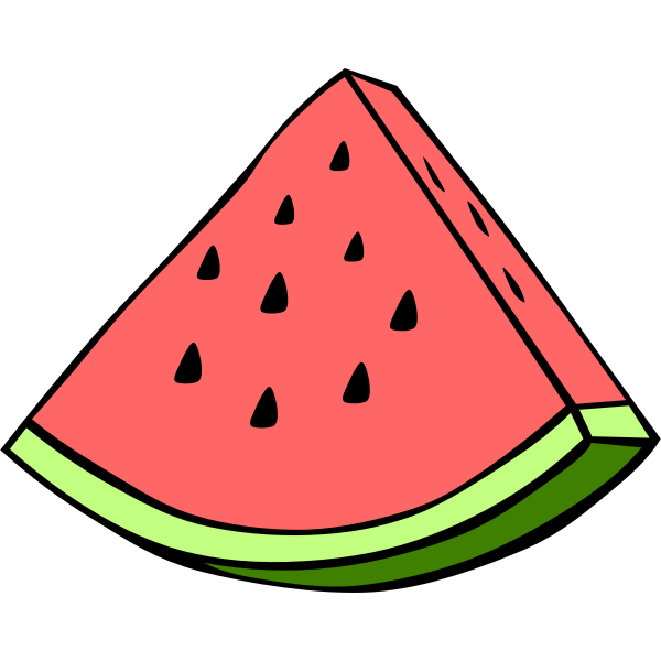 Watermelon vector clip art