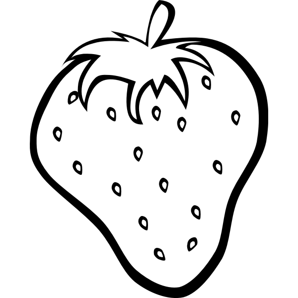 Strawberry vector clip art