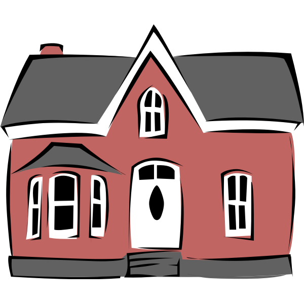 Small House vector art
