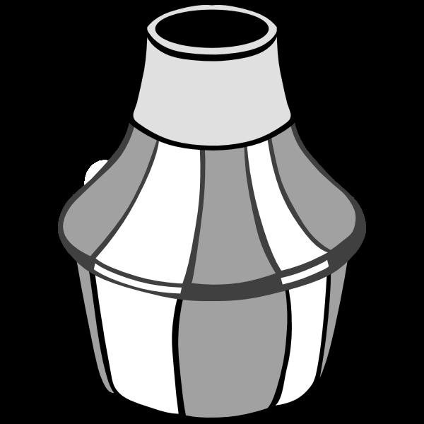 Vector image of harmon
