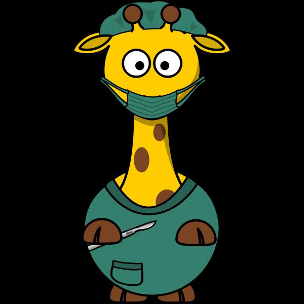 Giraffe doctor