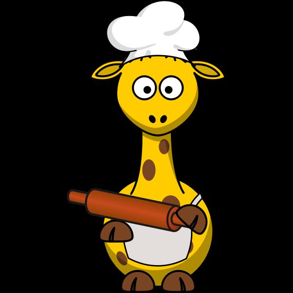 Giraffe baker
