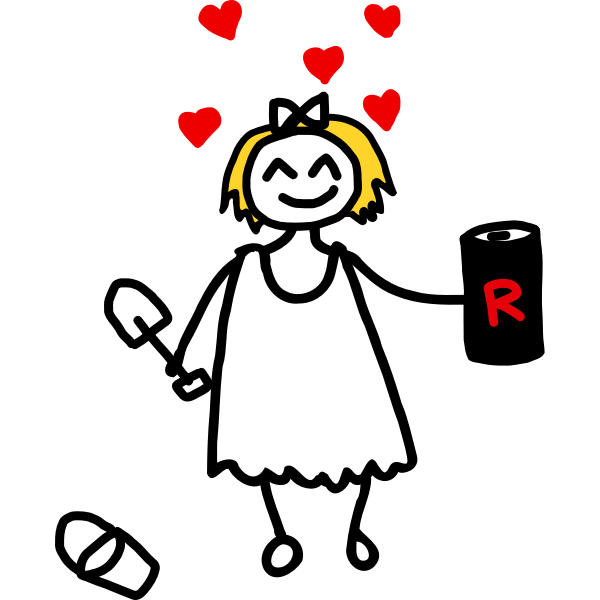Girl in love by Rones