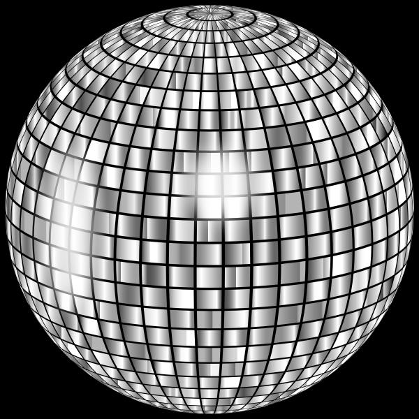 Glimmering Disco Ball Enhanced 2