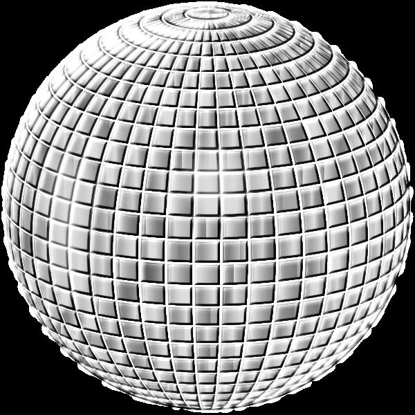 Glimmering Disco Ball Enhanced 3 No Background