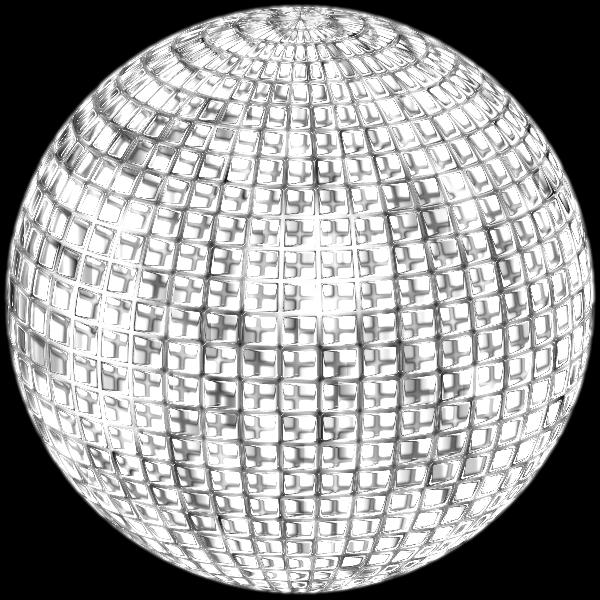 Glimmering Disco Ball Enhanced 4