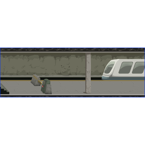 Glitch subway reconstructed