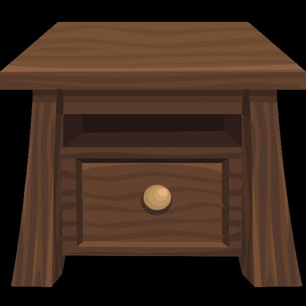 Simplified Wood Table
