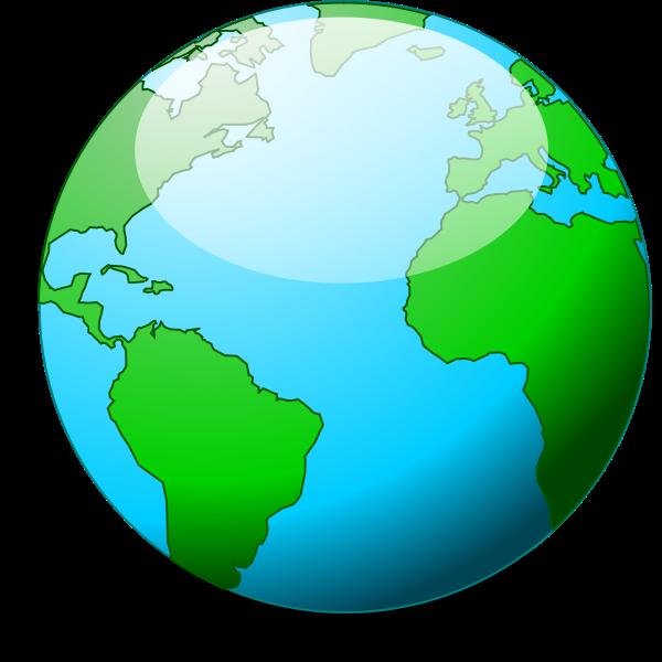 A simple vector globe