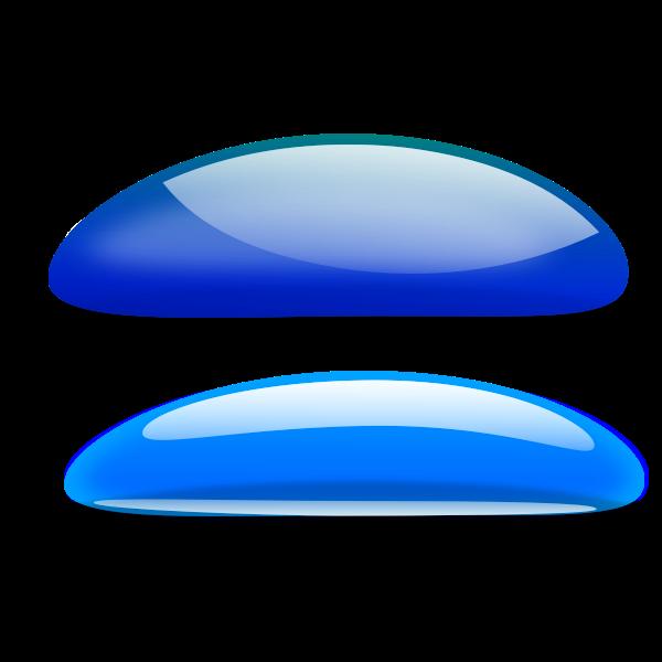 Blue and light blue droplets vector clip art