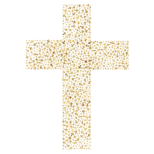 Gold Cross Fractal