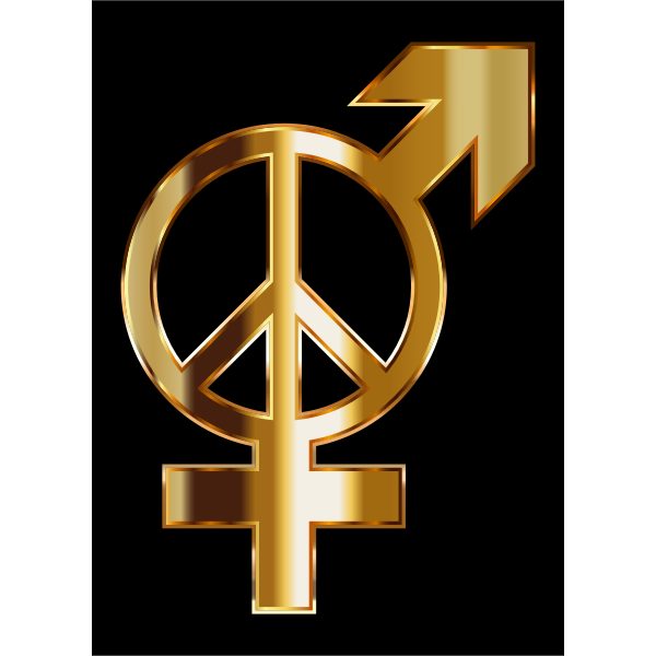 Gold Gender Peace