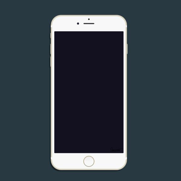 Gold PHONE 6 Plus BW OC