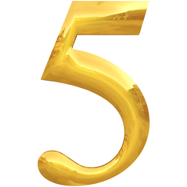 Golden number 5