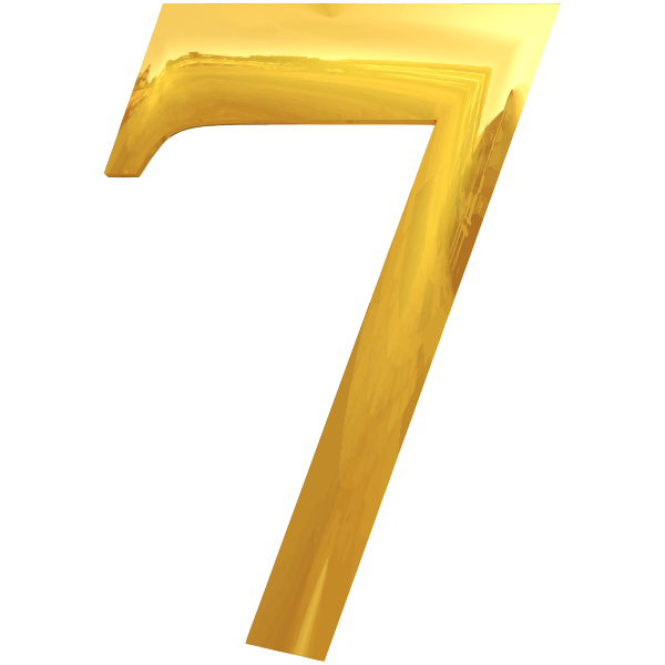 Gold typography 7