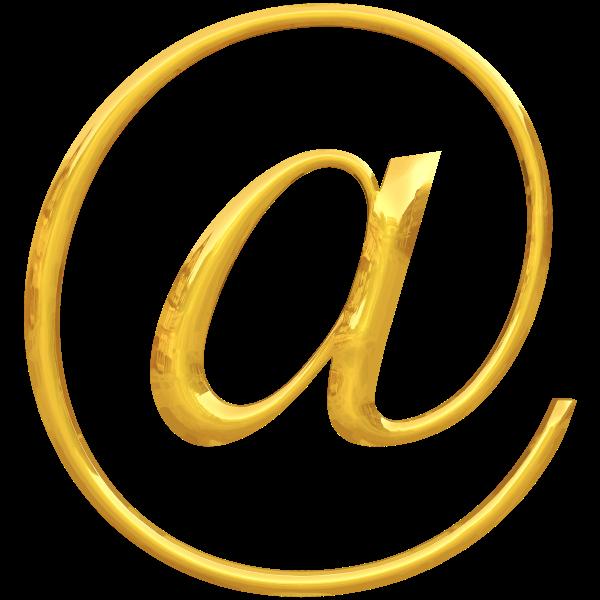 Gold typography @