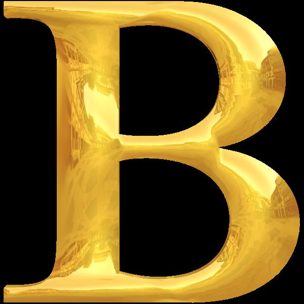 Gold typography B