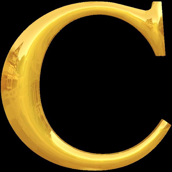 Gold C typography