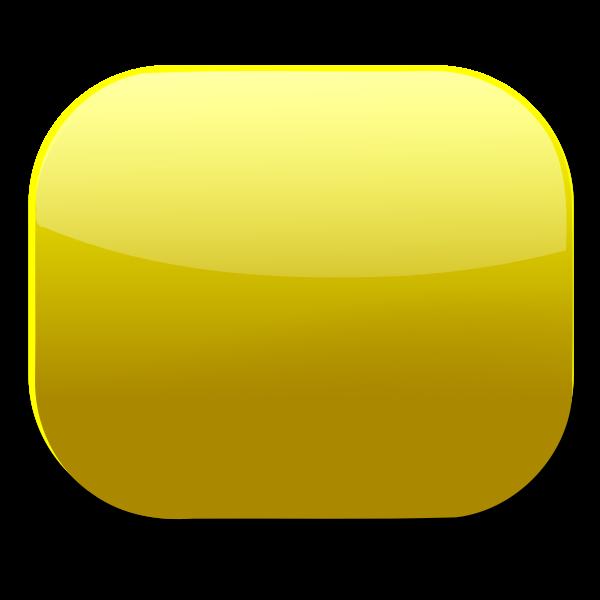 Golden web button vector clip art