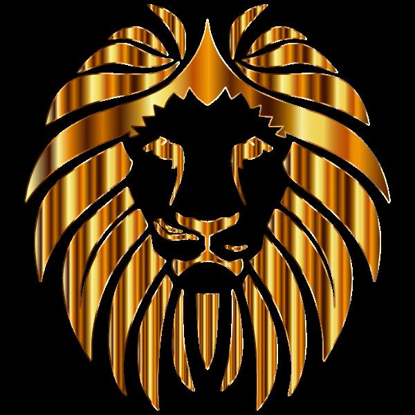 Golden Lion 10 No Background