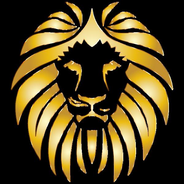 Golden Lion 8 No Background