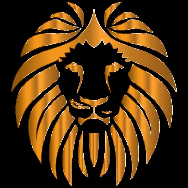 Golden Lion 9 No Background