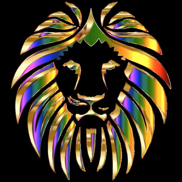 Golden Lion Enhanced No Background
