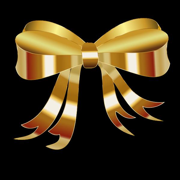 Golden ribbon